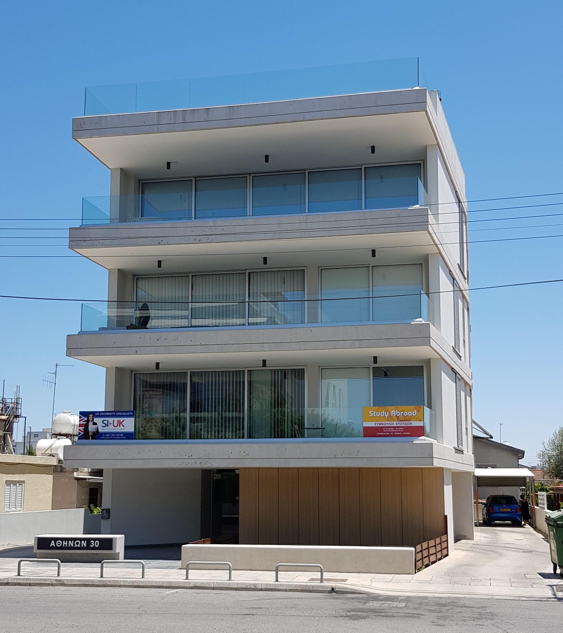 5 city apartments in the capital very near Nicosia city center